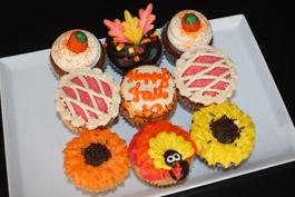Fall Cupcakes 2010