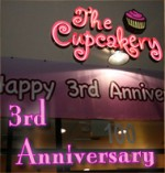 Cupcake 3rd Year Anniversary Party
